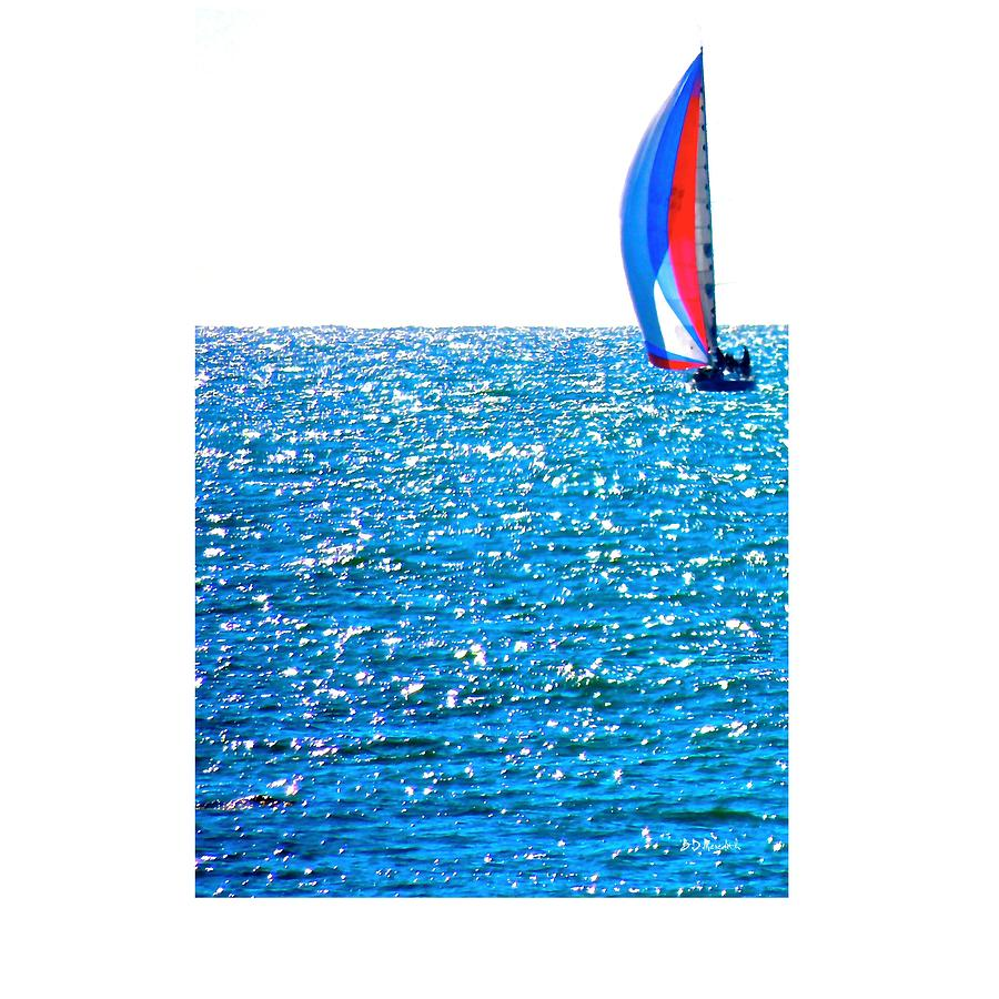 Water Photograph - Sailing by Brian D Meredith