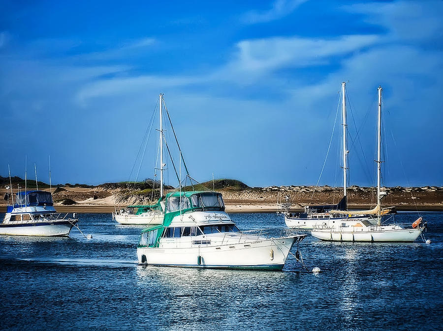 Boats Photograph - Sailing by Camille Lopez