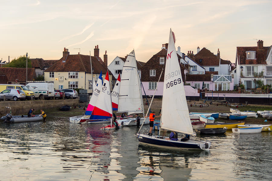 Emsworth Photograph - Sailing Home by Trevor Wintle