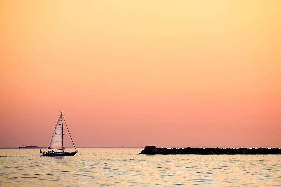 Sailing Photograph - Sailing In Color by Gary Heller