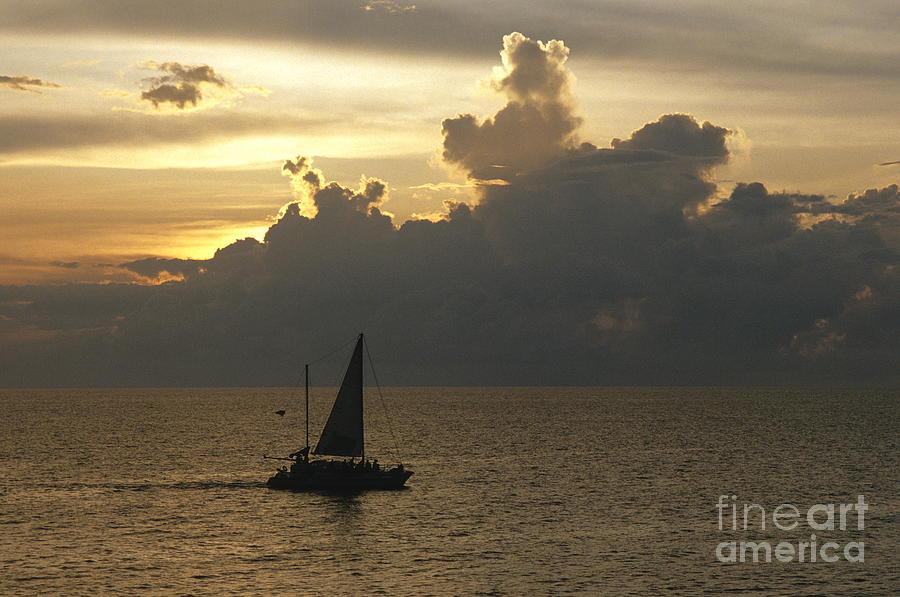Sailing Negril Photograph