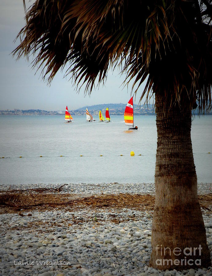 Sailing Photograph - Sailing On A Cloudy Morning by Lainie Wrightson
