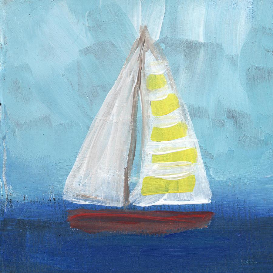 Sailing- Sailboat Painting Painting
