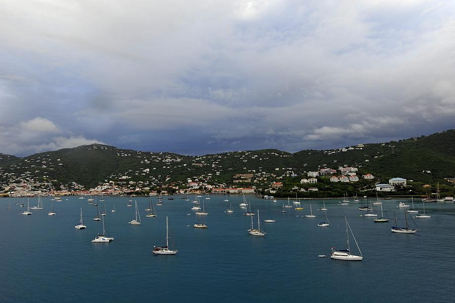 Saint Thomas Photograph - Sailing Saint Thomas by Willie Harper
