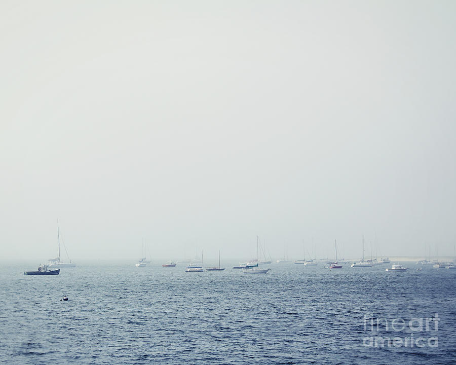 Ocean Photograph - Sailing Sea by Jillian Audrey Photography