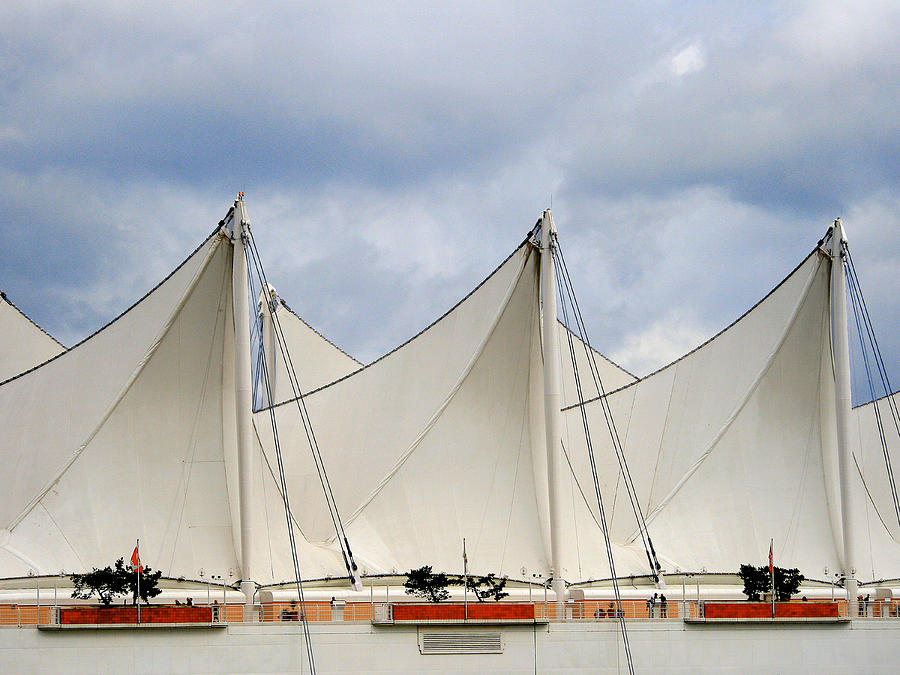 Buildings Photograph - Sails by Alison Miles