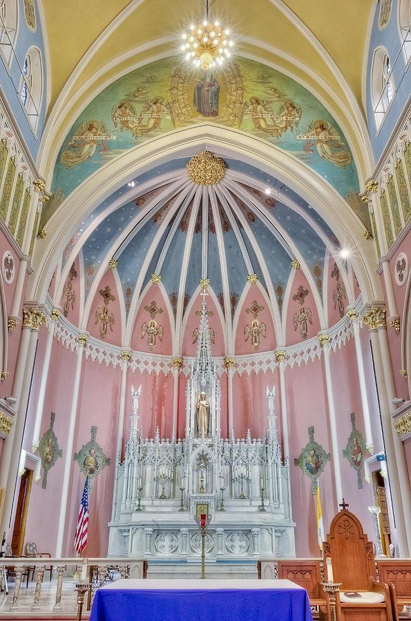 Altar Photograph - Saint Bridgets Altar by Susan Candelario