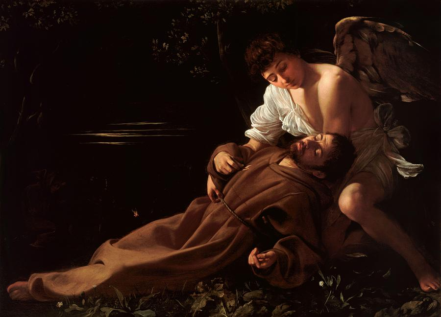 Caravaggio Photograph - Saint Francis Of Assisi In Ecstasy 2 by Caravaggio