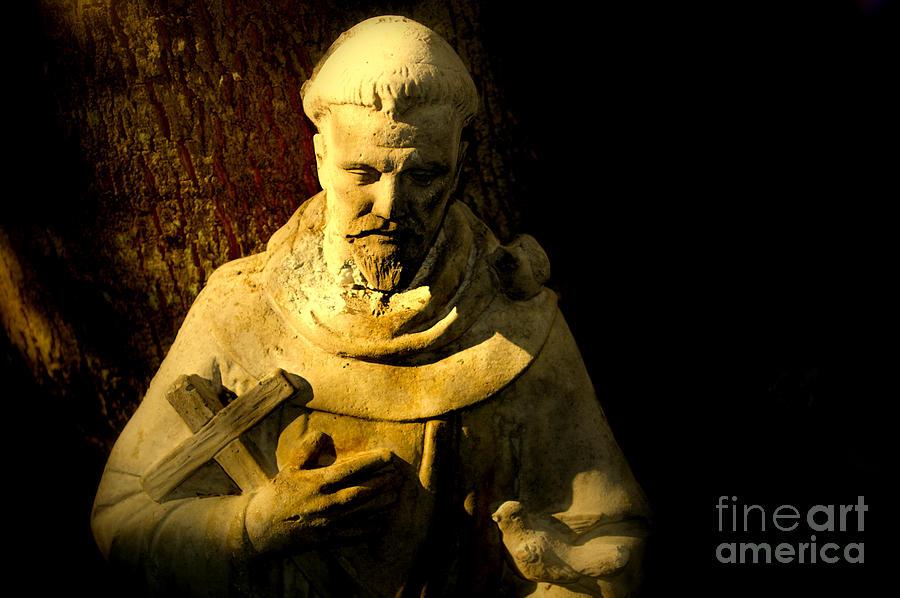 Saint Francis Photograph - Saint Francis by Susanne Van Hulst