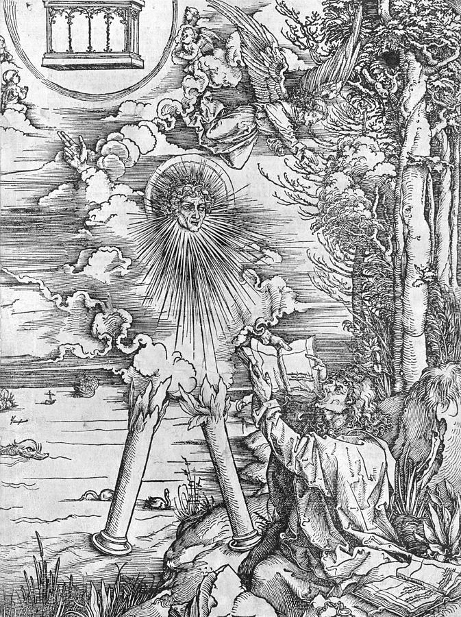 1511 Painting - Saint John by Albrecht Durer or Duerer