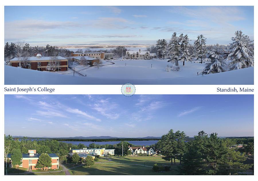 Saint Joseph's College Photograph - Saint Josephs College 2013 by John Hufstader