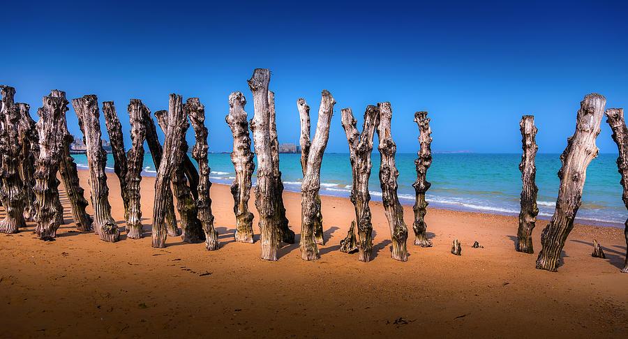 Saint Malo Photograph - Saint Malo Beach by Martin Velebil
