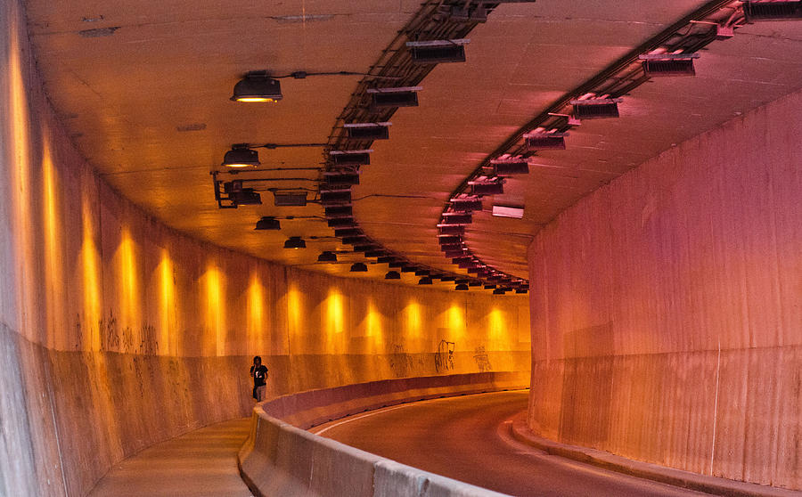Tunnel Photograph - Saint-marc Tunnel Scene 1 by Eric Soucy