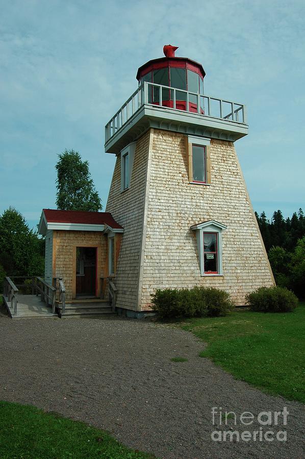 Saint Photograph - Saint Martins Lighthouse by Kathleen Struckle