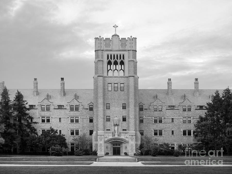 Belles Photograph - Saint Marys College Le Mans Hall by University Icons