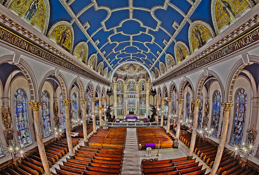 Altar Photograph - Saint Michael Church by Susan Candelario