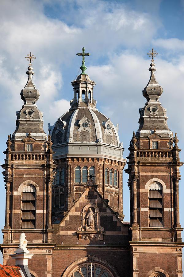 Amsterdam Photograph - Saint Nicholas Church In Amsterdam by Artur Bogacki