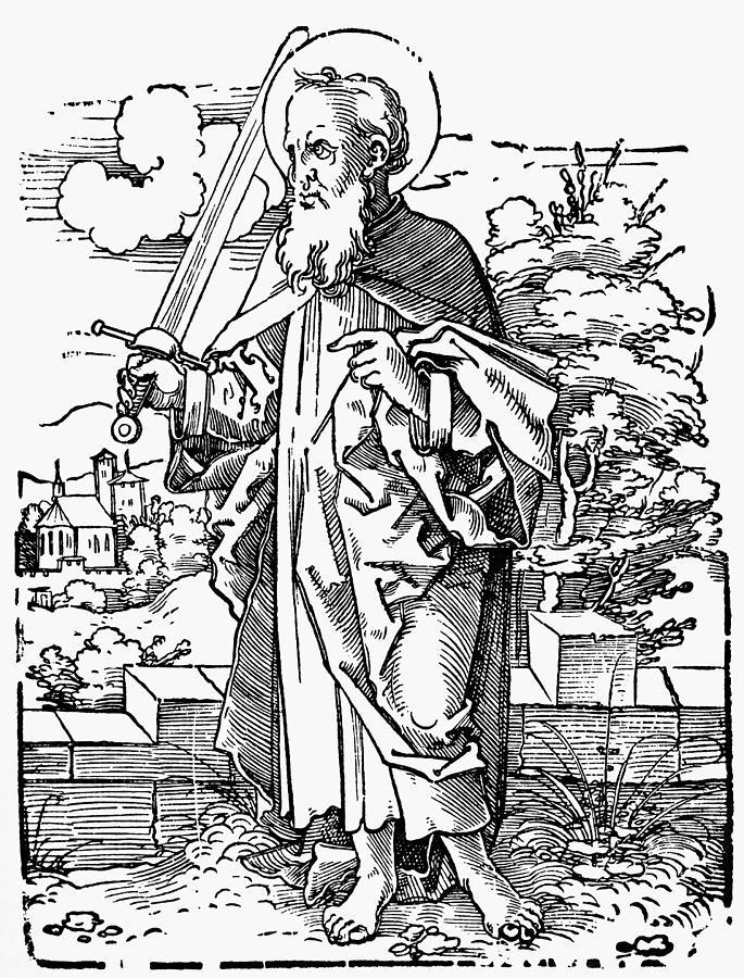 1530 Painting - Saint Paul by Granger