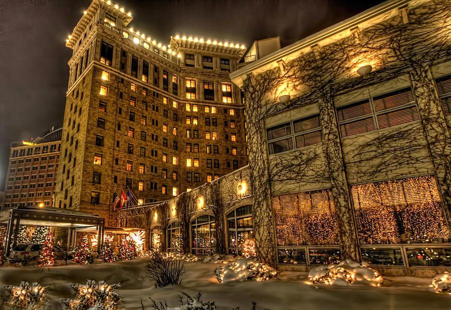 St Paul Photograph - Saint Paul Hotel by Amanda Stadther