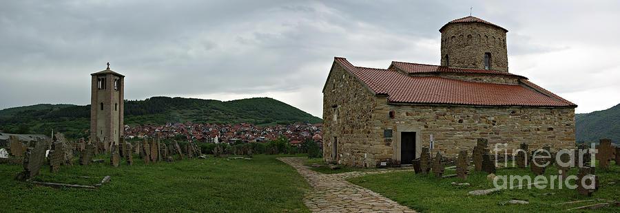 Ancient Photograph - Saint Peters Church by Zoran Berdjan