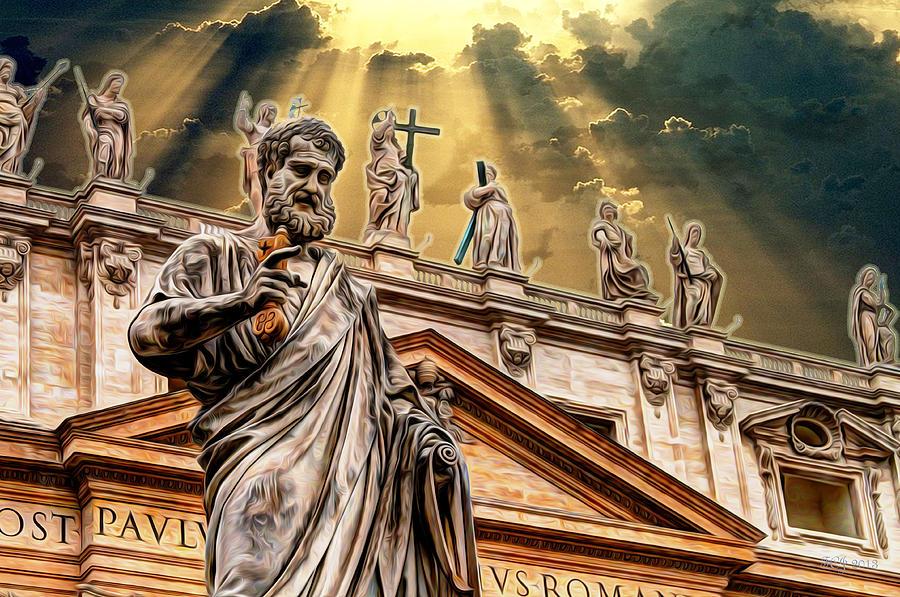 Saint Photograph - Saint Pietro by Francisco Colon