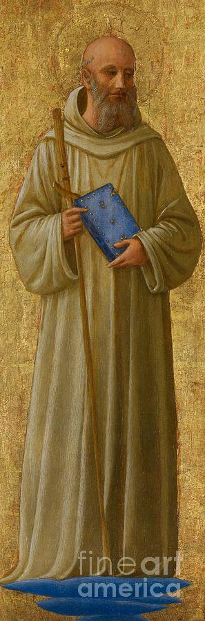 Saint Painting - Saint Romuald by Fra Angelico