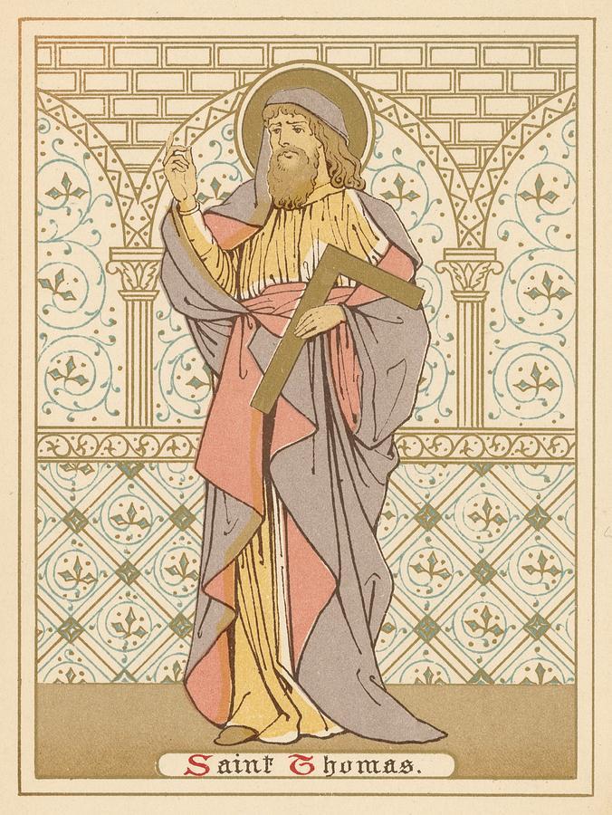 Saint Painting - Saint Thomas by English School