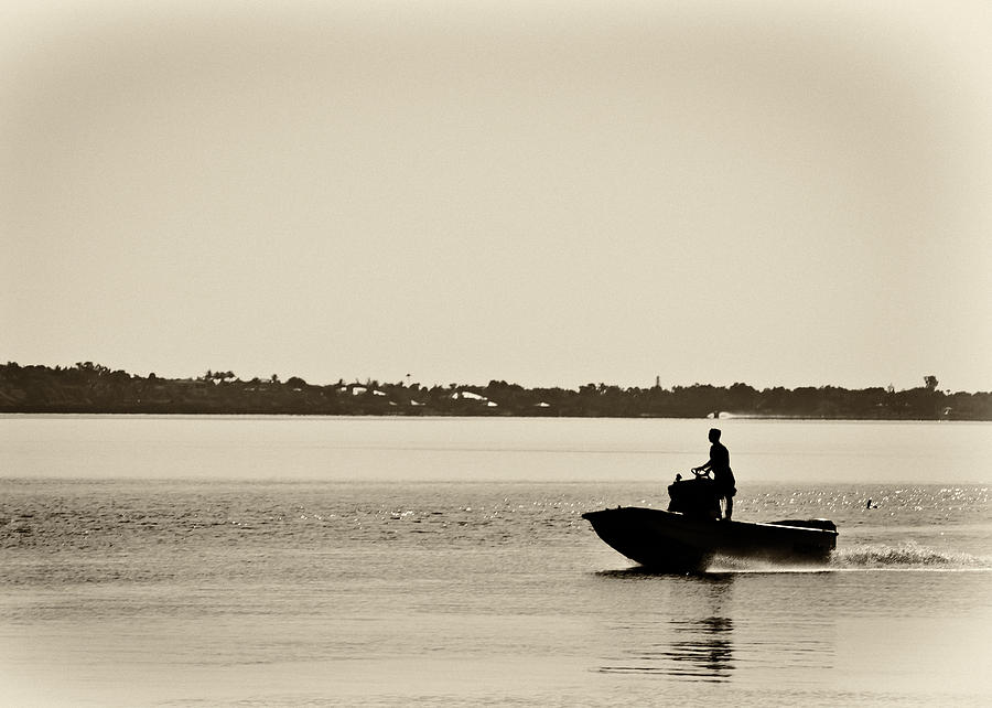 Boating Photograph - Saintlucieboating by Patrick M Lynch