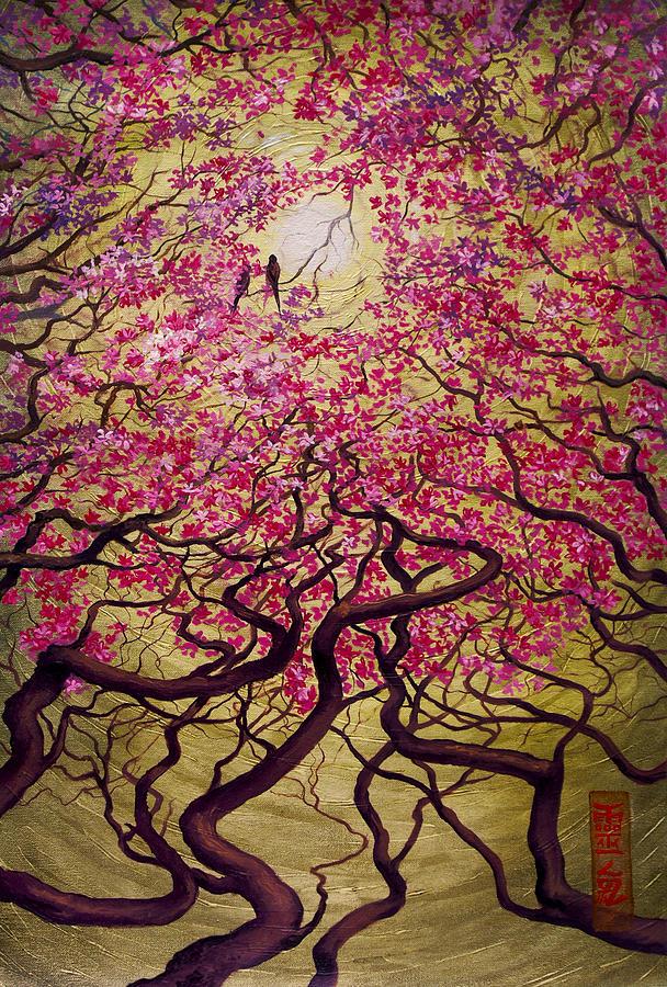 Sakura Painting - Sakura by Vrindavan Das