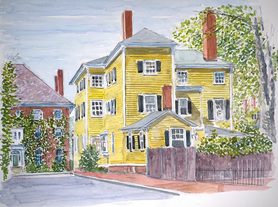 Salem Mass Painting - Salem by Anthony Butera