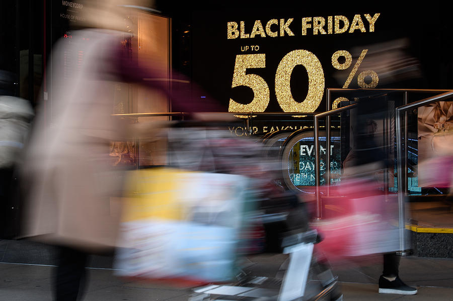 Sales Open On Black Friday Photograph by Leon Neal
