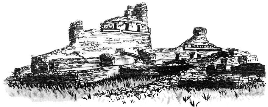 Salinas National Monument Digital Art