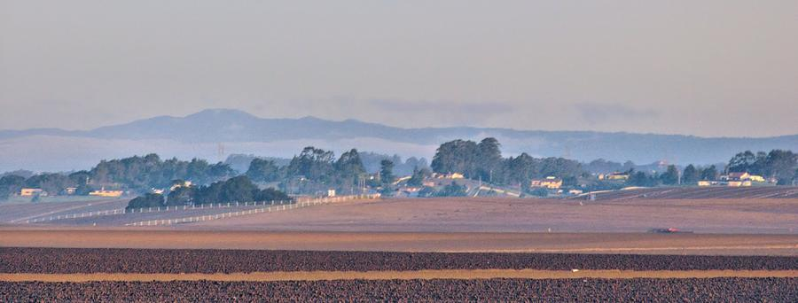 Mountains Photograph - Salinas Valley by Elery Oxford