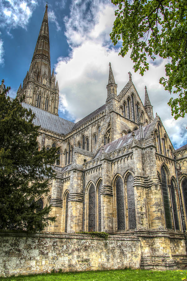 Hdr Photograph - Salisbury In The Morning by Ross Henton