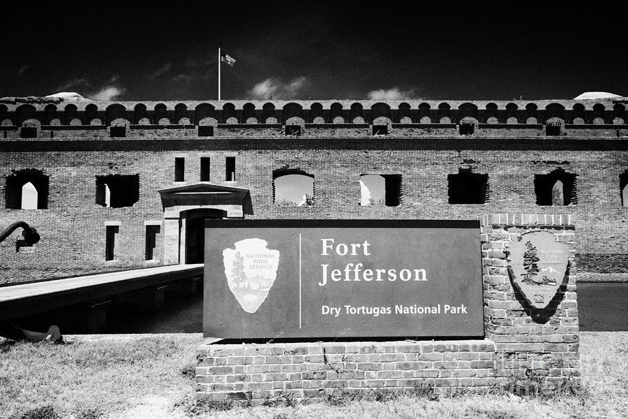 Fort Photograph - Sally Port Entrance To Fort Jefferson Dry Tortugas National Park Florida Keys Usa by Joe Fox