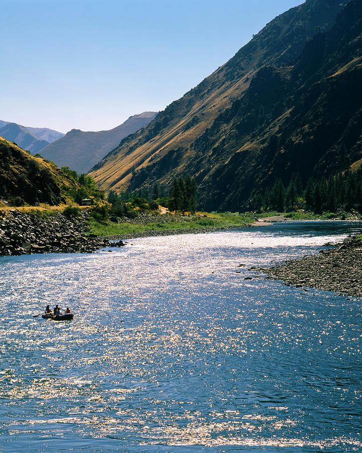 Salmon River Of Idaho Photograph by Mark Miller Photos