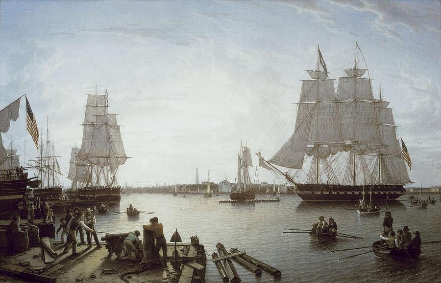 Horizontal Photograph - Salmon, Robert 1775-1845. Boston by Everett