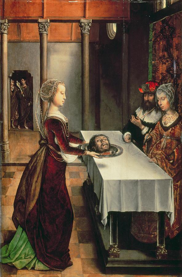 New Testament Photograph - Salome by Juan de Flandes