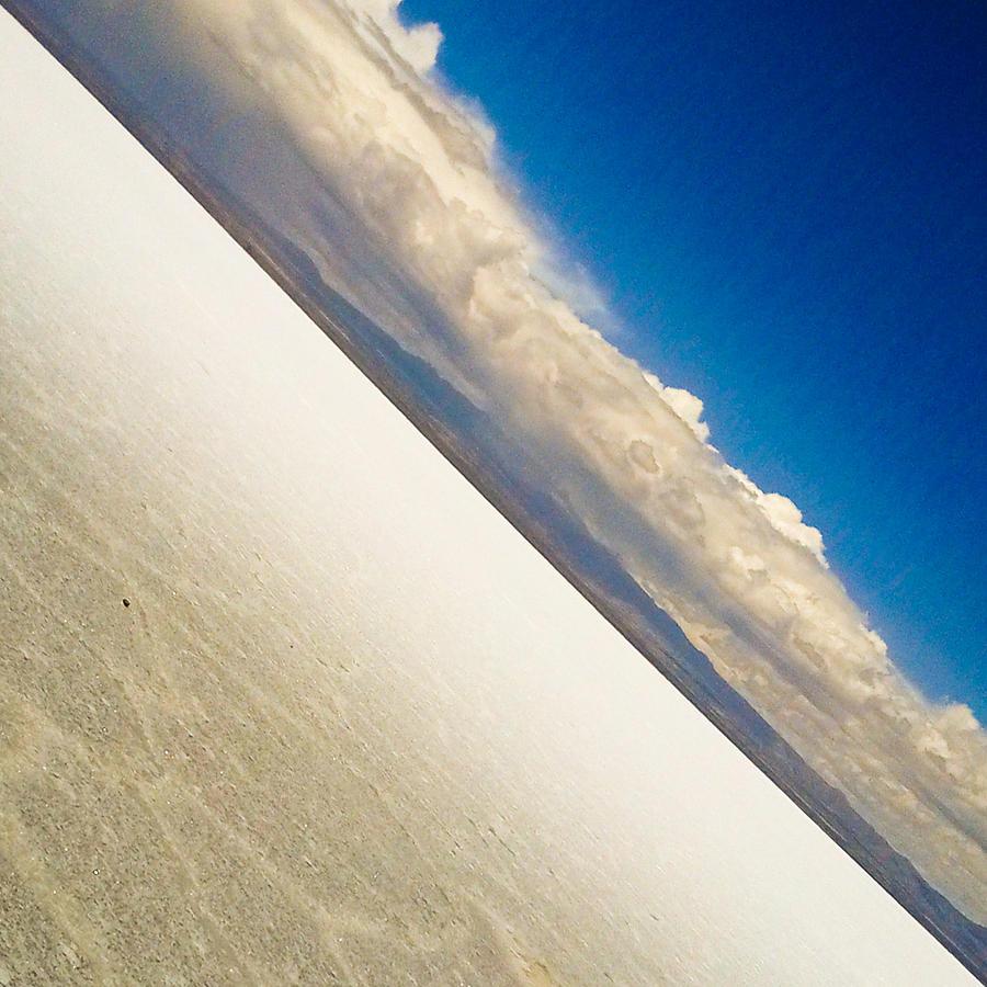 Salar De Uyuni Photograph - Salt And Sky by Tyler Lucas