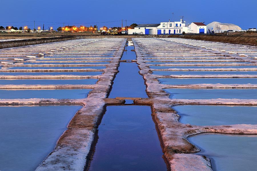 Salt Beds - Tavira, Portugal Photograph by Joao Figueiredo