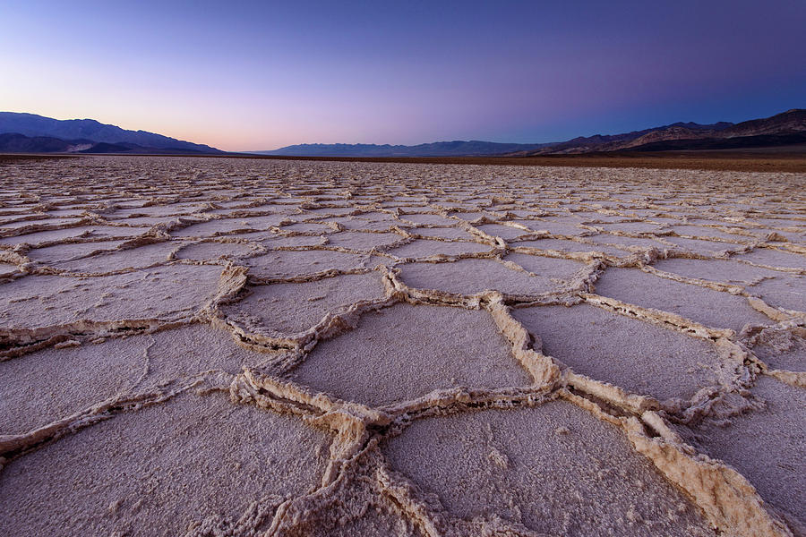 Salt Flat Basin Photograph by Piriya Photography