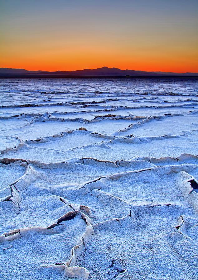 Salt Flats Of Amboy Photograph by David Toussaint