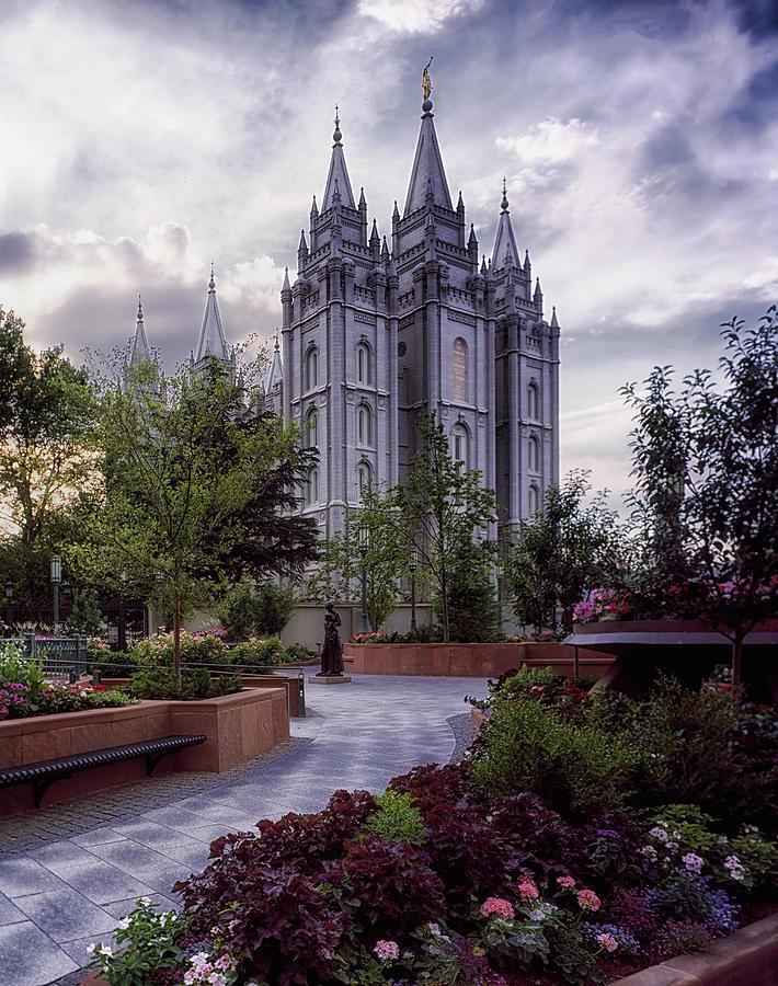 Salt Lake Temple Photograph - Salt Lake Temple by Mountain Dreams
