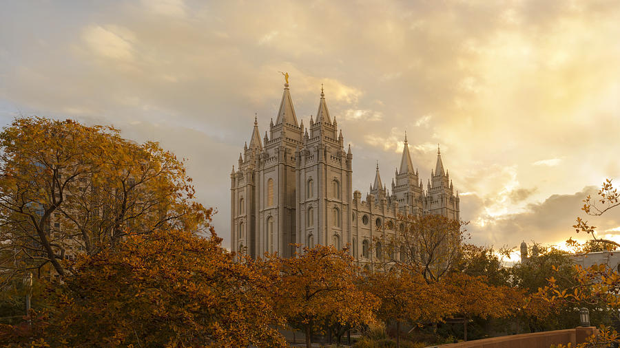 Salt Lake Temple Ultra High Resolution Photograph by ...