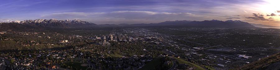Architecture Photograph - Salt Lake Valley by Chad Dutson