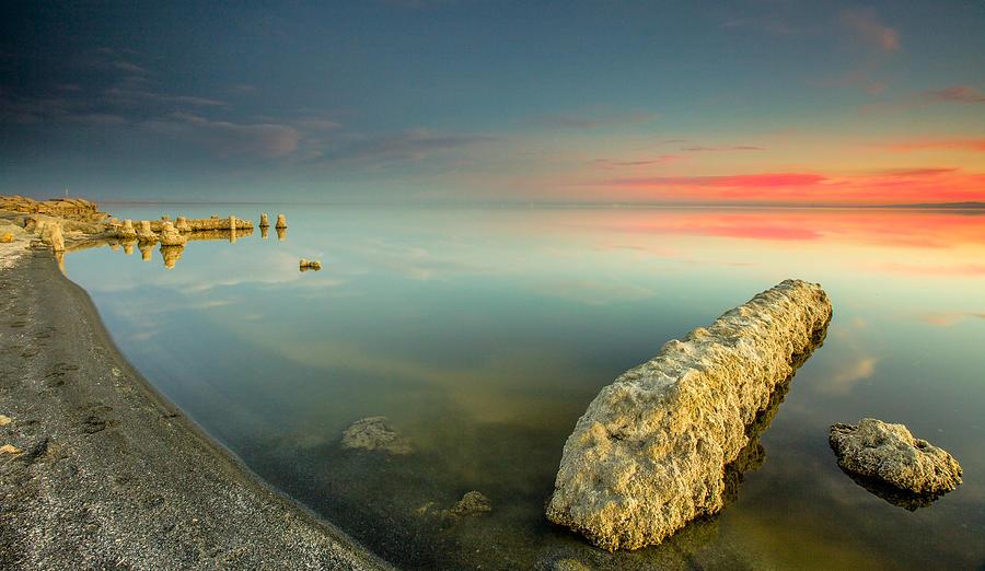 Salton Sea Photograph - Salton Sea Sunset by Robert  Aycock
