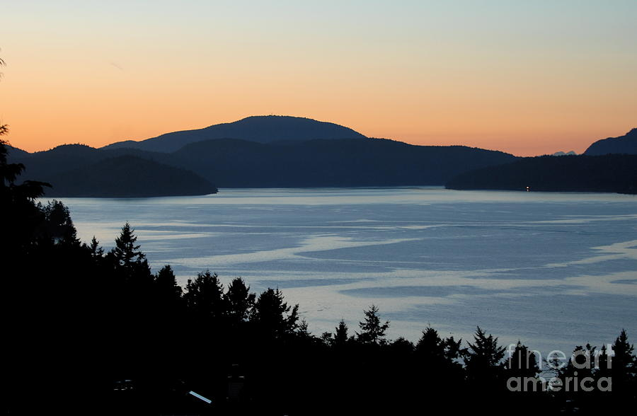Landscape Photography Photograph - Saltspring Island by Brian Arnold