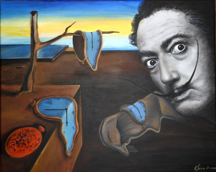 Persistence Painting - Salvador Dali by Yelena Day