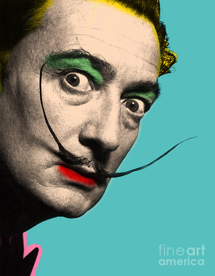 Salvador Dali Digital Art - Salvador Dali by Mark Ashkenazi