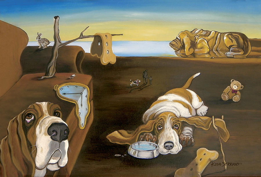 Is the Salvador Dalí Dog Up for Adoption in Dallas or Not ... |Salvador Dali Dog Paintings